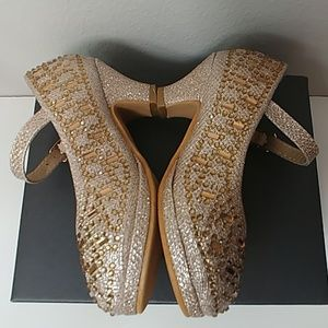 Link Shoes - Link Riley - 78k  Pageant Jewel Rhinestone heels
